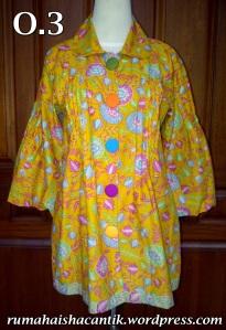 Warna : Kuning Size : M, LP:98, P:74 Harga : 195.000