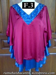Blus Payung Double Satin